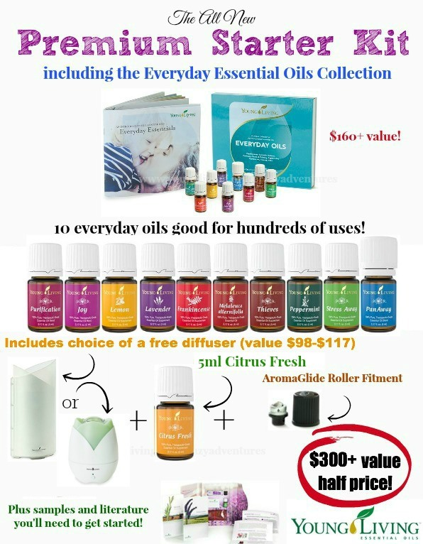 Young-Living-Oils-Premium-Starter-Kit-with-Choice-of-Diffuser-breakdown-of-products